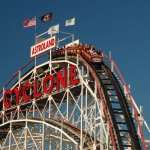 The Cyclone at Coney Island.  © James Kirkikis
