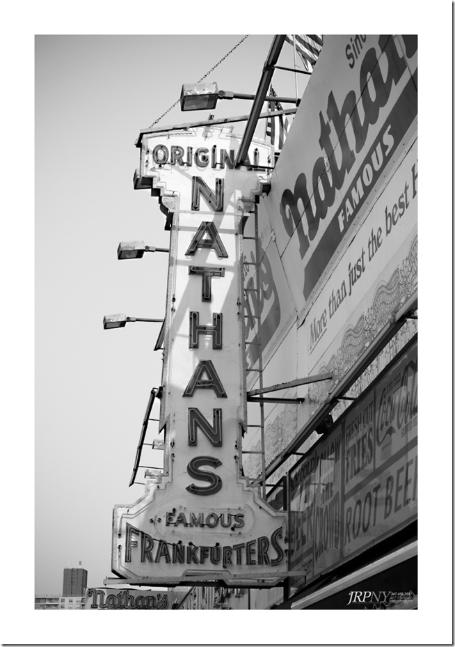 The Original Nathans Hotdogs - Coney Island